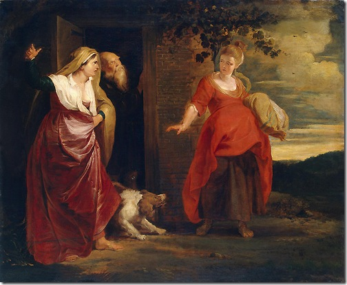 Hagar Leaves the House of Abraham, 1615-1617, Peter Paul Rubens