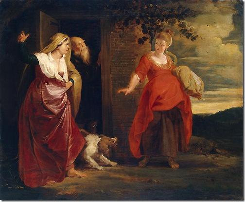 Hagar Leaves the House of Abraham, 1615-1617, Peter Paul Rubens