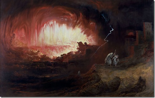 The Destruction of Sodom and Gomorrah, 1852, John Martin