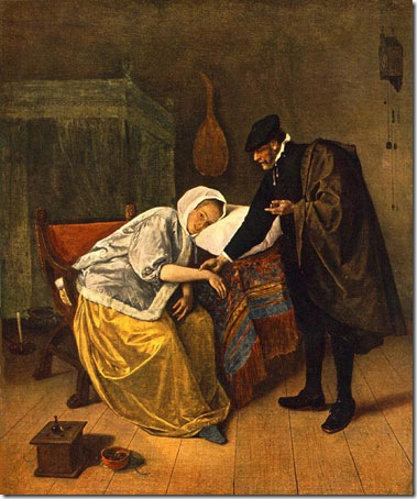 The Doctor and His Patient, Jan Steen