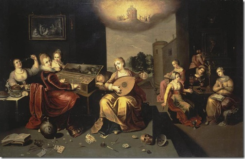 Parable of the Wise and Foolish Virgins, c. 1616, Hieronymus Francken II