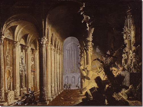 King Asa of Judah Destroys the Idols, Francois de Nomé