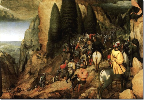 The Conversion of Saul, 1567, Pieter Bruegel the Elder