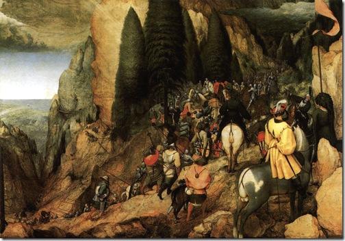 The Conversion of Saul, 1567, Pieter Bruegel the Elder