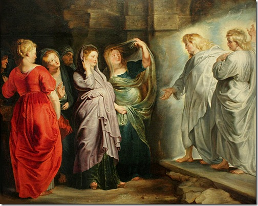 The Holy Women at the Sepulchre, ca. 1611-14, Peter Paul Rubens