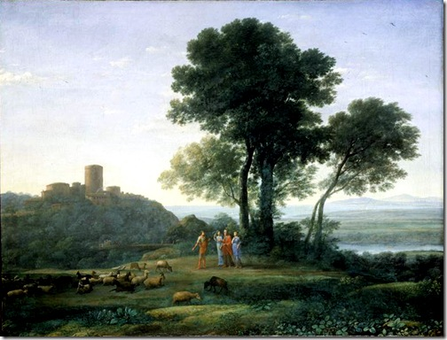 Jacob with Laban and his daughters, 1676, Claude Lorrain
