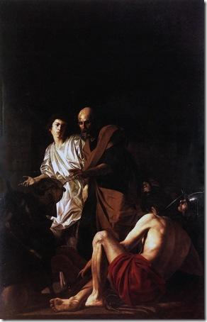 Liberation of St. Peter (Liberazione di san Pietro dal carcere), 1615, Giovanni Battista Caracciolo