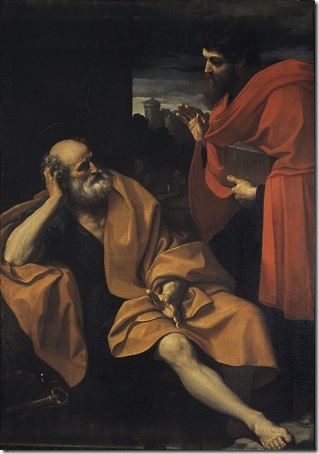 The Apostles Peter and Paul (Apostel Petrus und Paulus), c. 1605, Guido Reni