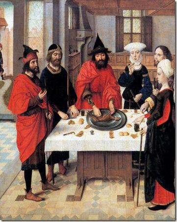 The first jewish passover (La première Pâque juive), c. 1464-1467, Dieric Bouts the Elder