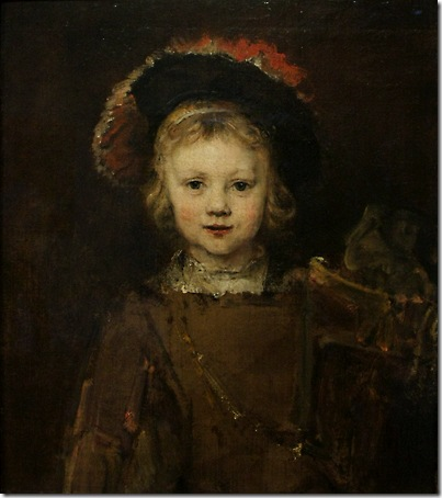 "Portrait of a Boy in Fancy Dress, ""Titus"", c. 1655, Rembrandt van Rijn"