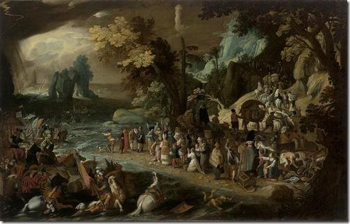 The Crossing of the Red Sea, ca. 1597-1600, Bastiaen Vrancx