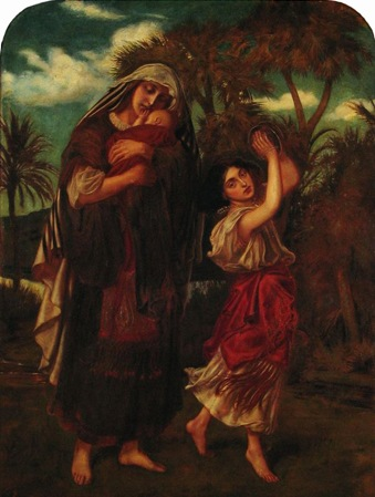 The Finding of Moses, 1862, Simeon Solomon