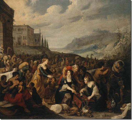 The Israelites after Crossing the Red Sea, 1625, Hans III Jordaens