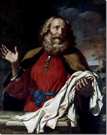 Jacob Mourning over Joseph's Coat (Jacob Receiving Joseph's Coat), c. 1625, Il Guercino