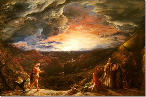 Noah: The Eve of the Deluge, 1848, John Linnell
