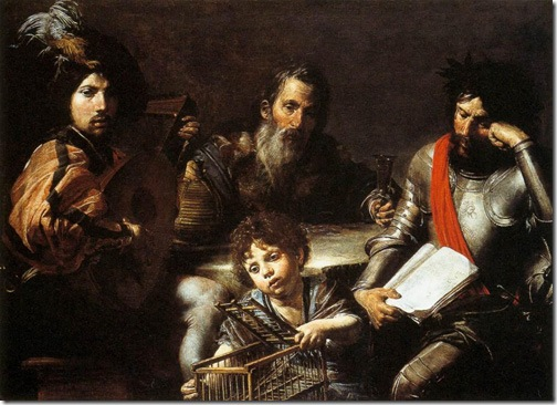 The Four Ages of Man, 1626-28, Valentin de Boulogne