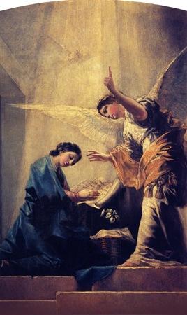 The Annunciation (La Anunciación), 1785, Francisco de Goya