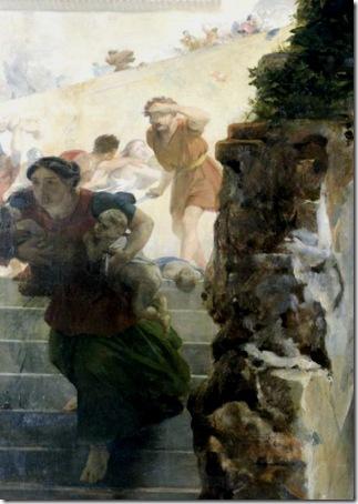 "DETAIL: ""Scene of the massacre of the Innocents"", 1824, Léon Cogniet"
