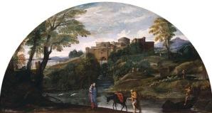 Paisagem com a Fuga para o Egito – Annibale Carracci
