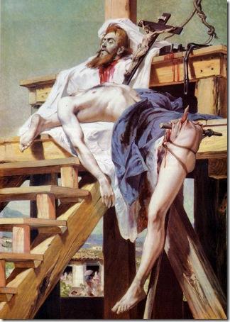 Tiradentes Esquartejado, 1893, Pedro Américo de Figueiredo e Melo