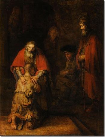 The Return of the Prodigal Son, c. 1669, Rembrandt Van Rijn