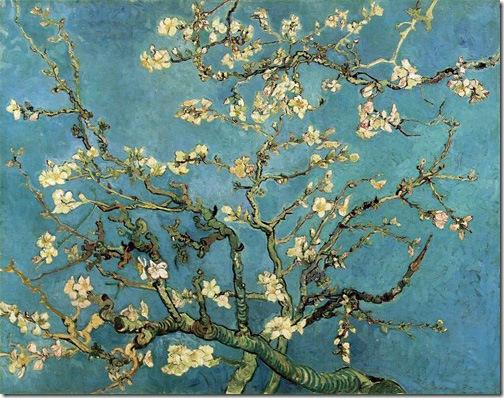 Almond Blossom, 1890, Vincent Van Gogh