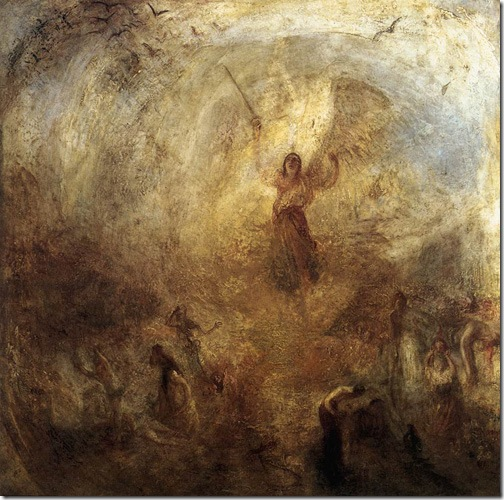 The Angel Standing in the Sun, 1846, Joseph Mallord William Turner