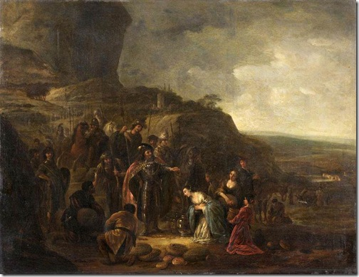 The Meeting of David and Abigail, first half of 17th century, Jacob Willemsz de Wet the Elder
