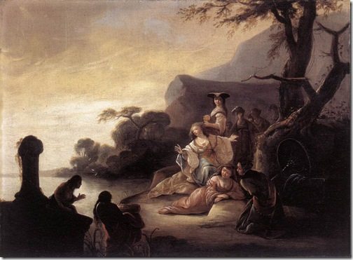 Finding of Moses in the Nile, 1650, Gerrit de Wet