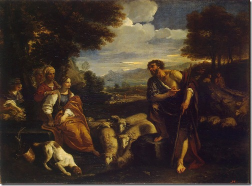 Jacob Meeting Rachel, c. 1659, Pier Francesco Mola
