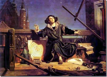 Astronomer Copernicus, conversation with God, 1872, Jan Matejko