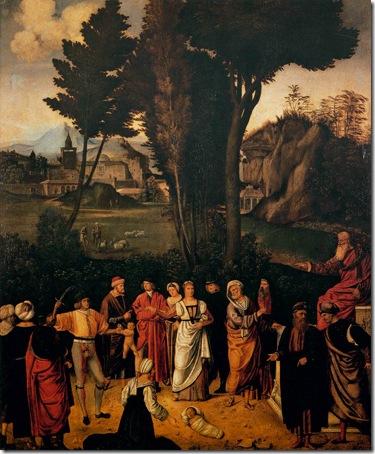 Solomon's Judgment (Il Giudizio di Salomone), 1500-1501, Giorgione