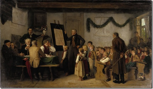 The school exam (Das Schulexamen), 1862, Albert Anker