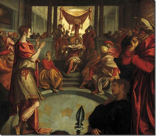 Joseph interpreting Pharaoh's dream (Jozef verklaart de droom van de farao), 1579-1583, Anthonie Blocklandt van Montfoort