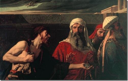 The Remorse of Judas, 1866, Edward Armitage
