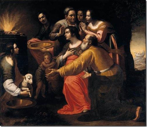 The Sacrifice of Noah, first half of 17th century, Giovanni Martinelli