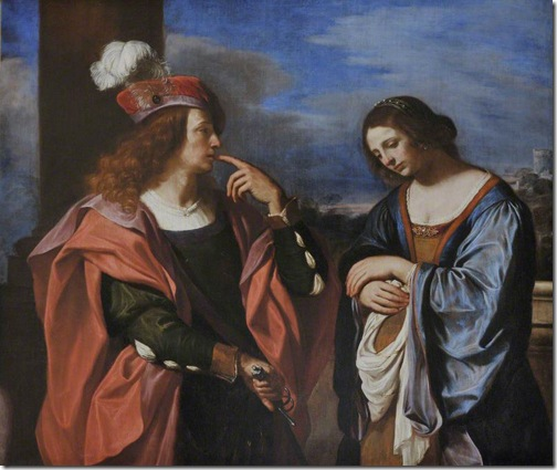 Absalom and Tamar, c. 1644-1666, Il Guercino