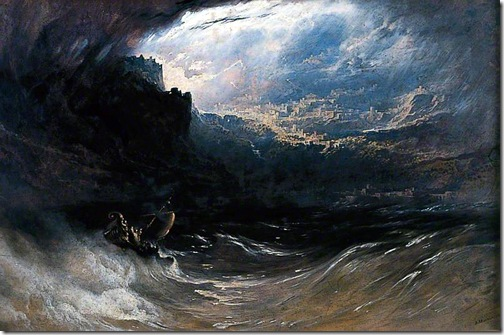 Christ Stilleth the Tempest, 1852, John Martin