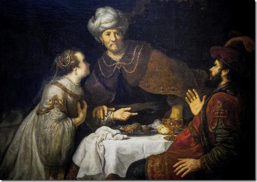 Esther and Haman before Ahasuerus, 1638-1640, Jan Victors