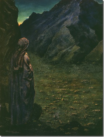 Ezekiel in the Valley of Dry Bones, 1888, Sir Philip Burne-Jones