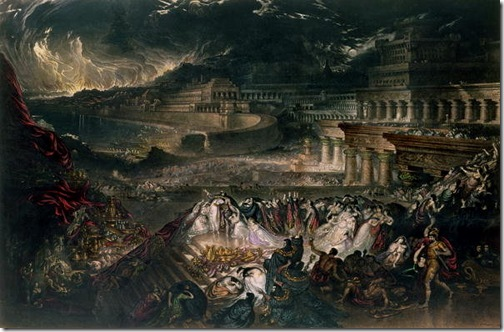 The Fall of Nineveh (La Chute De Ninive, La Destruction de Ninive), 1828, John Martin
