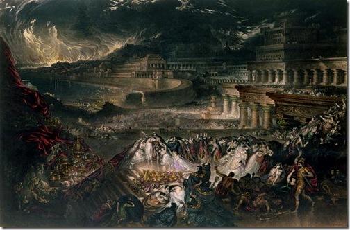 The Fall of Nineveh (La Chute De Ninive, La Destruction de Ninive), 1828, John Martin