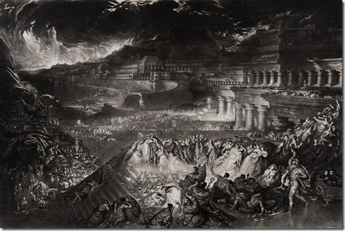 The Fall of Nineveh, 1829, John Martin