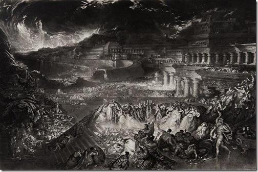 The Fall of Nineveh, 1829, John Martin