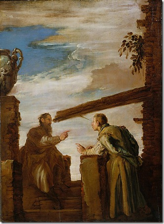 """The Parable of the Mote and the Beam"", c. 1619, Domenico Fetti"