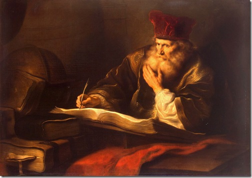 An Old Scholar, Salomon Koninck
