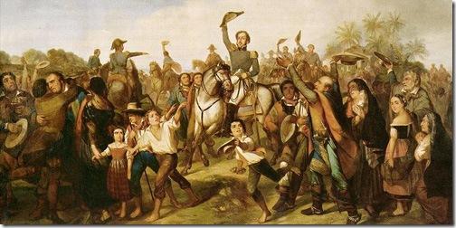 Proclamação da Independência, 1844, François-René Moreaux