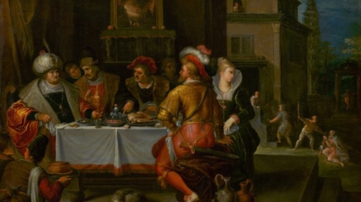 The Parable of the Rich Man and Lazarus, C. 1625, Frans Francken II