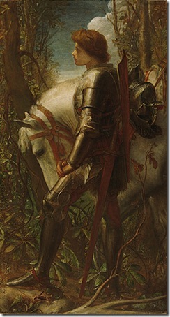 Sir Galahad, 1862, George Frederick Watts