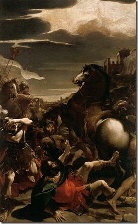 The Conversion of St Paul (Conversione di san Paolo), 1587-88, Lodovico Carracci
